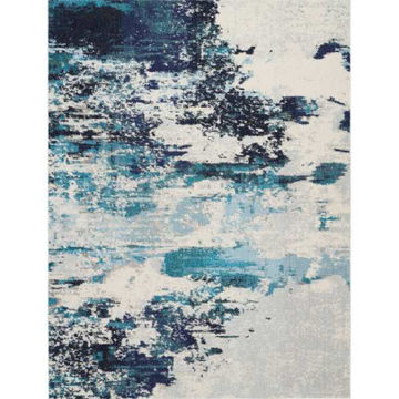 Picture of COSMIC RUG IVORY BLUE 7X10