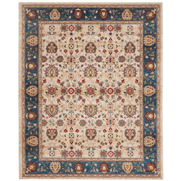 Picture of CHARM RUG IVORY BLUE 8X11