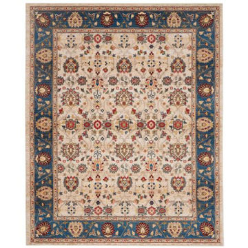 Picture of CHARM RUG IVORY BLUE 7X9