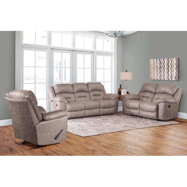 Picture of MORRISON STONE MANUAL RECLINING SOFA - F773