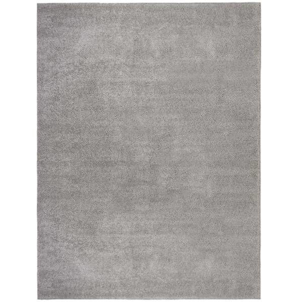 Picture of LUCA SHAG RUG SILVER/GREY 9X13
