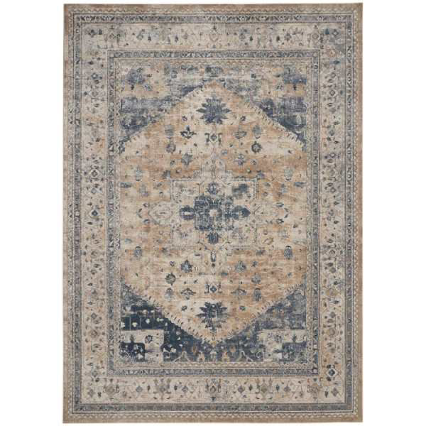 Picture of FRISCO RUG BEIGE BLUE 7X10