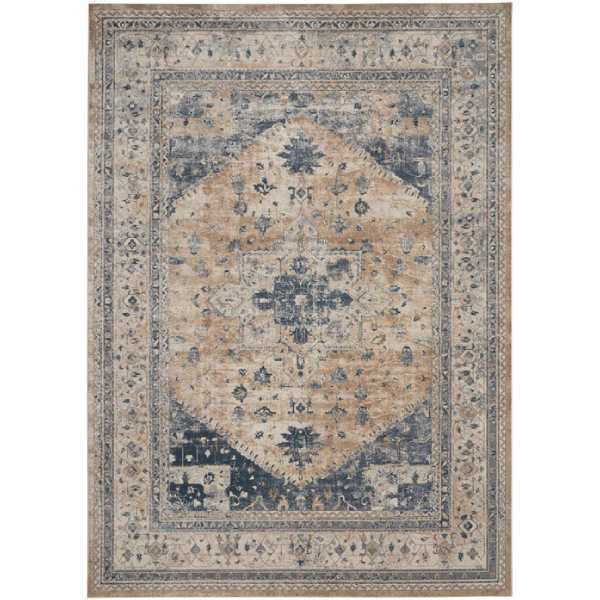 Picture of FRISCO RUG BEIGE BLUE 9X12