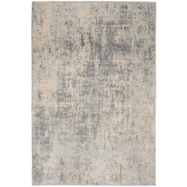 Picture of IVORY SILVER 5X7 HARPER RUG