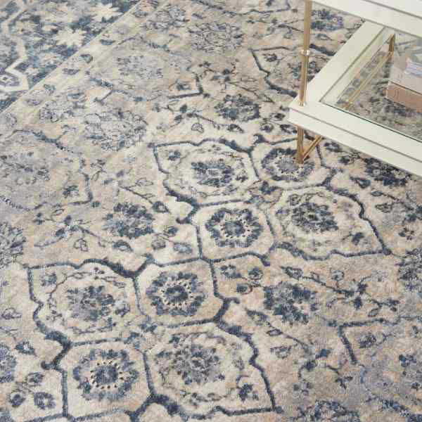 Picture of FRISCO RUG IVORY BLUE 5X7