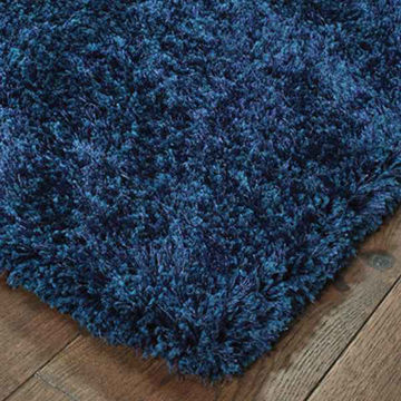 Picture of 5.0 x 7.0 COSMOS BLUE SHAG AREA RUG