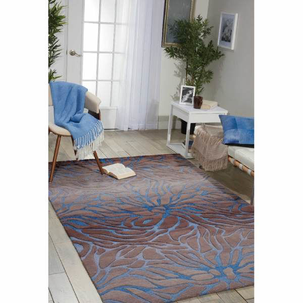 Picture of TAZA RUG OCEAN SAND 5X7