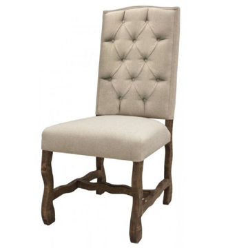 Picture of LA GRANGE UPH CHAIR W/TUFTED BACK - 435