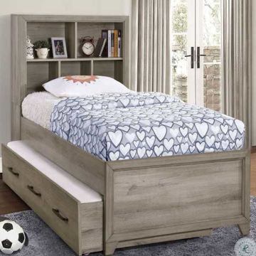 Picture of RIVERCREEK BOOKCASE BED SET - FULL
