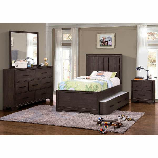 Picture of GRANITE FALLS PANEL BED SET - TWIN