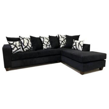 Picture of CRYPTO BLACK SECTIONAL - 110