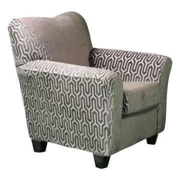 Picture of ARIEL ACCENT CHAIR MODA SILVER - 752