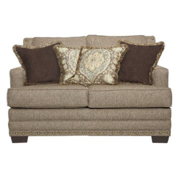 Picture of MAL CAN BUCKHORN LOVESEAT - 10100