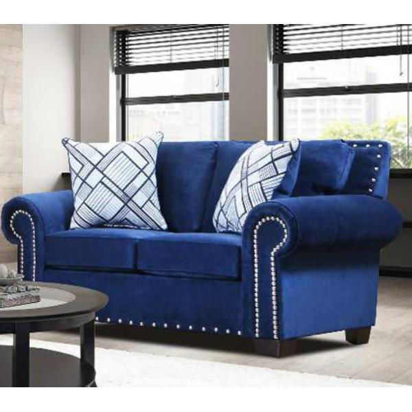 Picture of MAXWELL NAVY LOVESEAT - 1970
