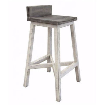 """Picture of 30"""" STOOL W/ WOODSEAT & BASE"""