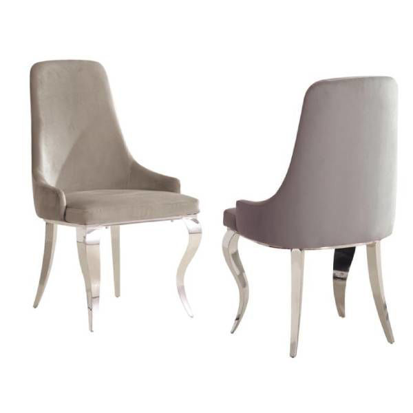 Picture of JANELLE GREY DINING CHAIR - 1088