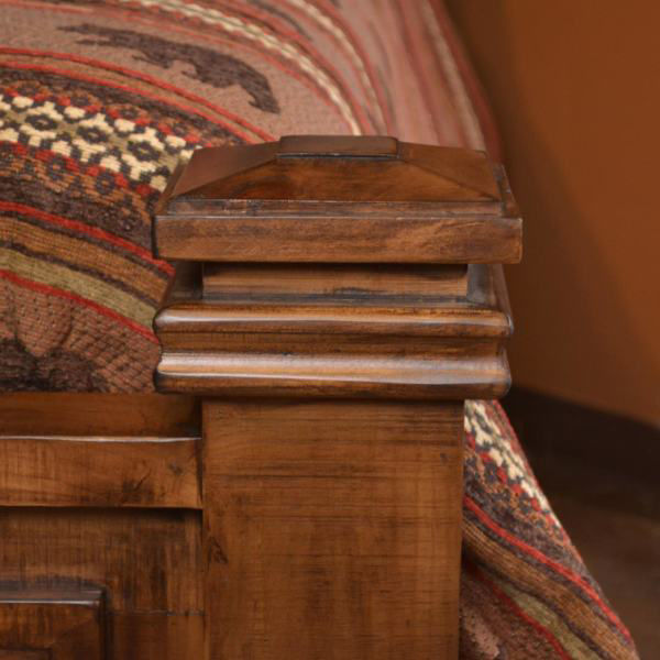 Picture of COPPER CANYON QUEEN BED - 4246