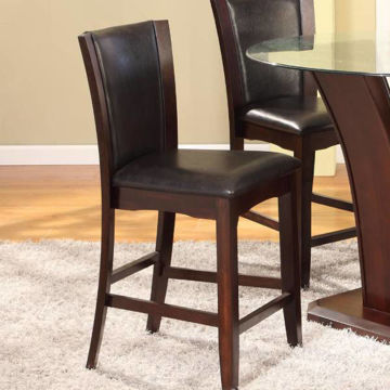 Picture of CANTON ESPRESSO COUNTER HEIGHT STOOL - 1710