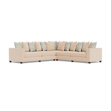 Picture of ARIEL CREAM SECTIONAL - 429