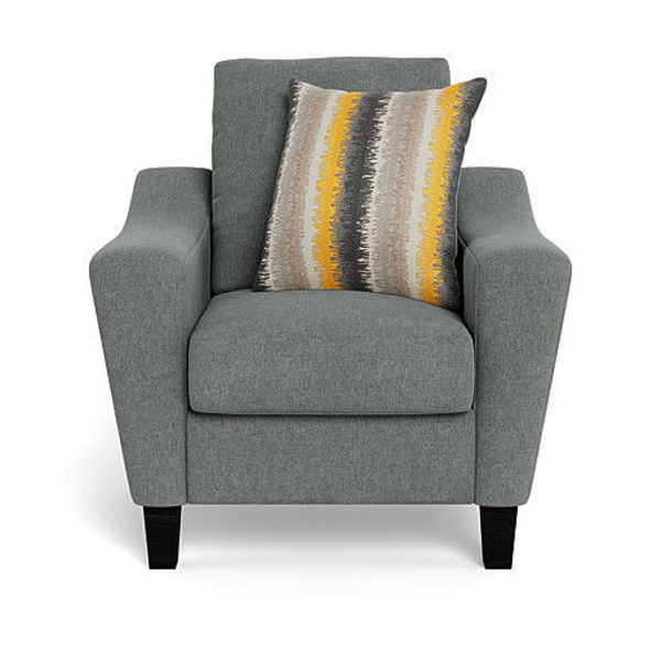Picture of MONROE GRAY CHAIR - 1177