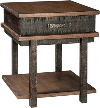 Picture of STANAH 2 TONE END TABLE - T892