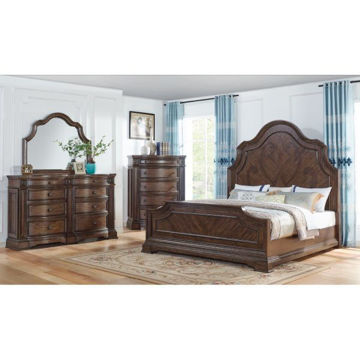 Picture of VERSAILLES KING PANEL BED - B430