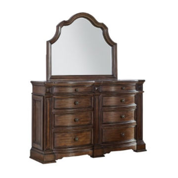 Picture of VERSAILLES BROWN MIRROR - B430