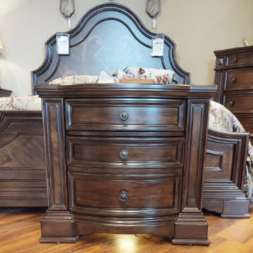 Picture of VERSAILLES BROWN NIGHSTAND - B430