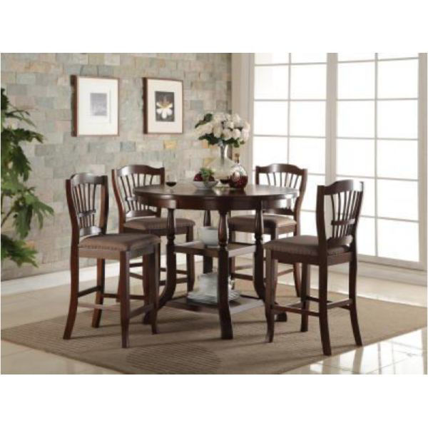 Picture of EMMA 5PC COUNTER HEIGHT DINING SET - 2541