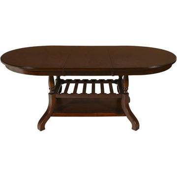 Picture of EMMA ESPRESSO DINING TABLE - 2541