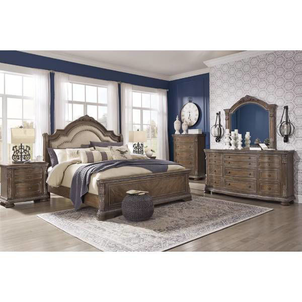Picture of CHATEAU BEDROOM MIRROR - B803