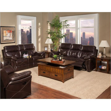 Picture of GALAXY CHOCOLATE GLIDER RECLINER - 326