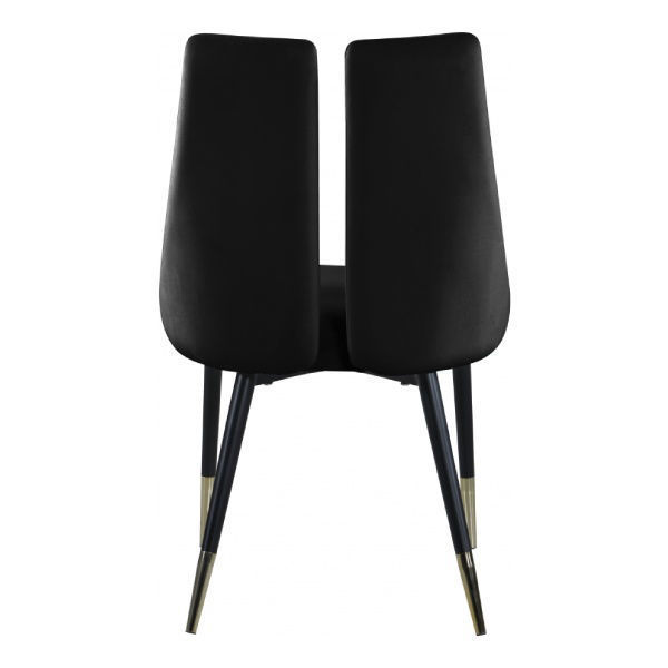 Picture of SLEEK BLACK DINING CHAIR