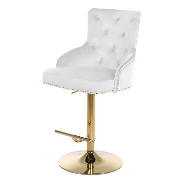 Picture of CLAUDE WHITE ADJUSTABLE STOOL