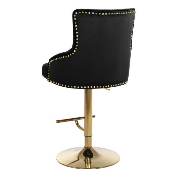 Picture of CLAUDE BLACK GOLD STOOL