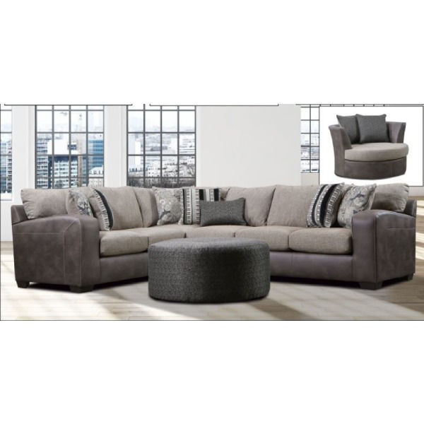 Picture of RENEGADE CHOCOLATE SECTIONAL