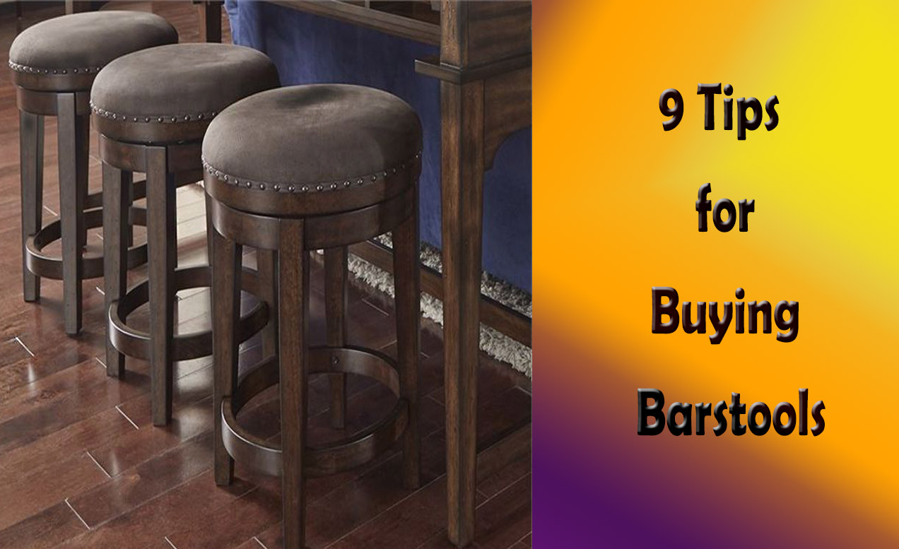 9 Things to Consider While Buying Bar Stools