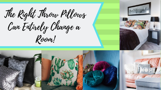 The Right Throw Pillows Can Entirely Change a Room