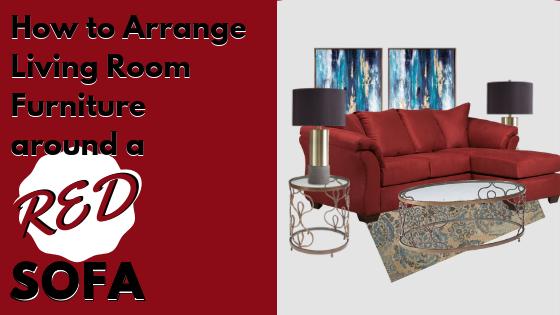 Red Sofas For Sale | Living Room Tips | Houston Furniture ...