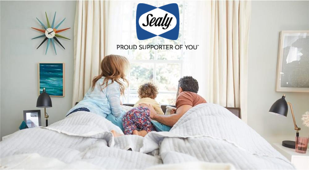 Cover Image - Family on bed looking out window